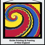 Logo for Giclée Printing & Framing of New England